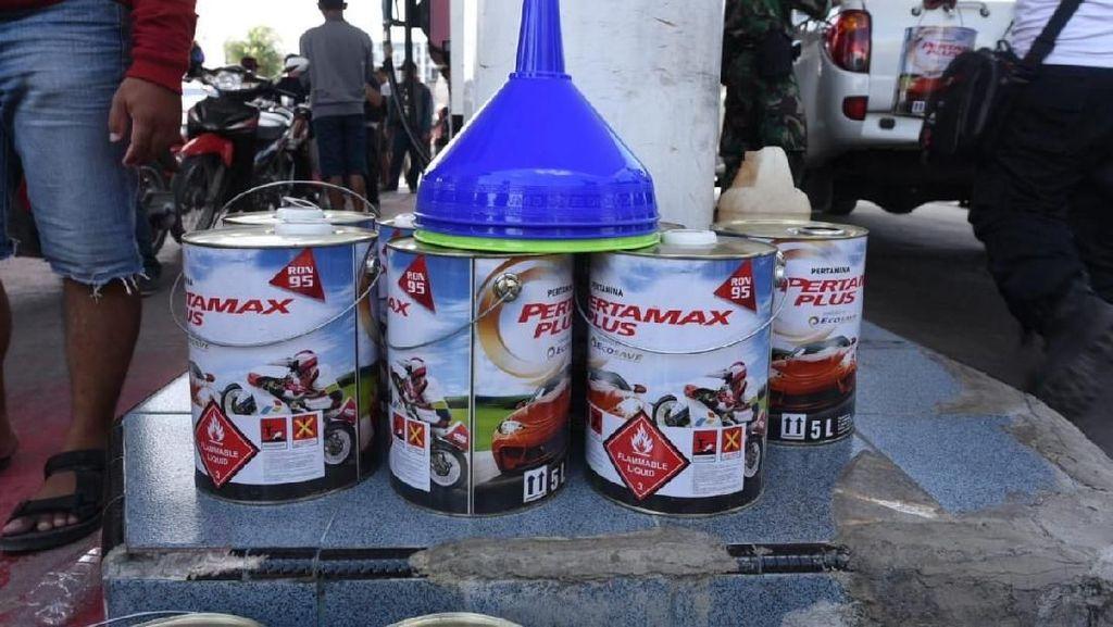 Pascagempa, Pertamina Jual BBM dalam Kemasan di Palu