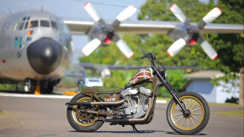 Durian Runtuh Pemuda Aceh Bawa Pulang Harley Belo Negoro