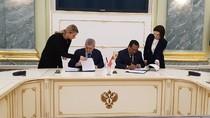 Jaksa Agung RI-Rusia Teken MoU Kerja Sama Antarlembaga