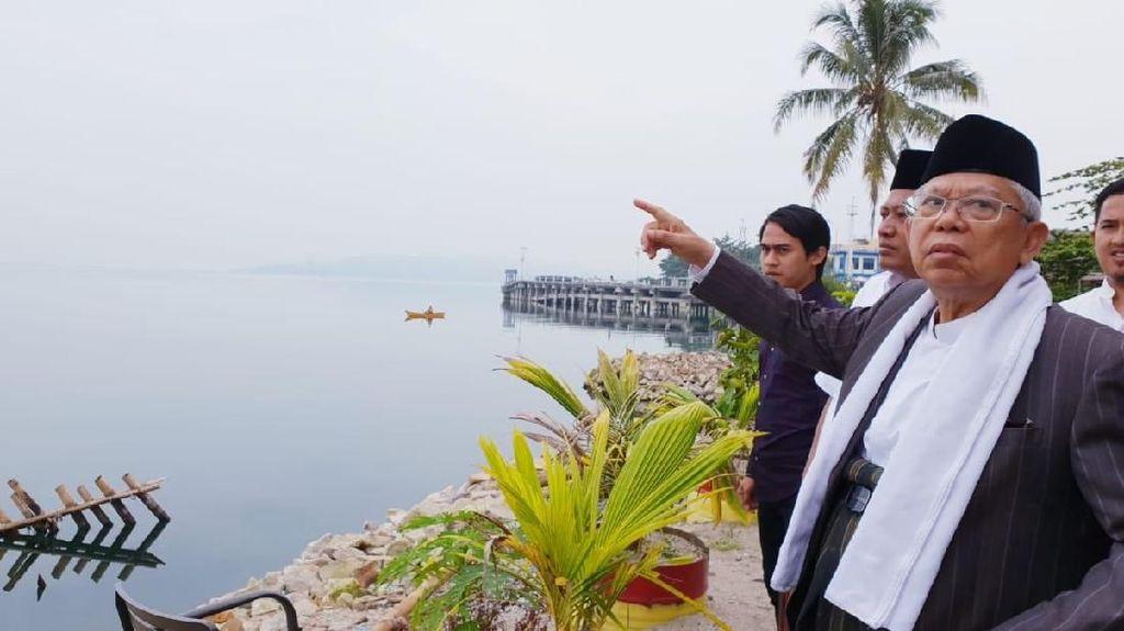 Maruf Amin: Danau Toba Punya Potensi Wisata Luar Biasa