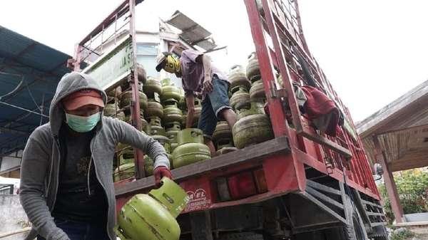 100 Ribu Elpiji Sudah Dikirim ke Palu dan Sigi
