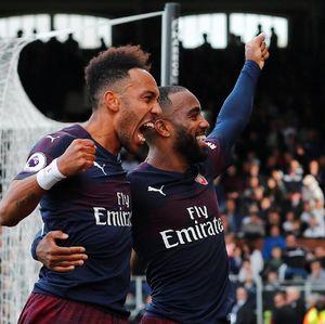 Bromance Aubameyang-Lacazette di Arsenal