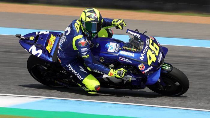 Valentino Rossi akan memburu kemenangan pertamanya di musim ini di MotoGP Valencia (Foto: Soe Zeya Tun/Reuters)