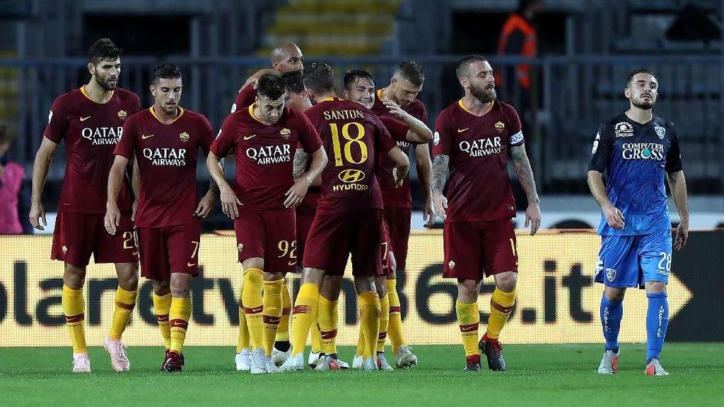 Hasil Liga Italia: Roma Atasi Empoli 2-0