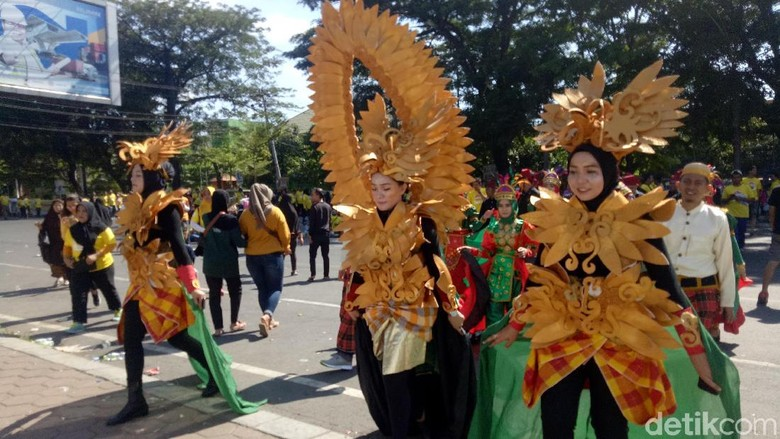 Festival Pesona Lokal Peduli Palu Donggala (Ibnu Munsir/detikTravel)