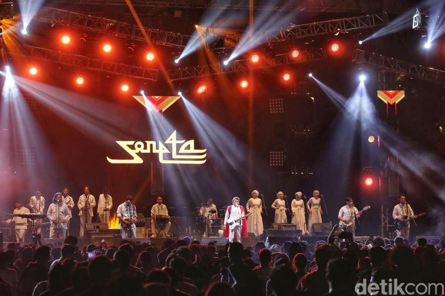 Hobaah, Rhoma Irama yang Penuh Tausiah di Synchronize Fest