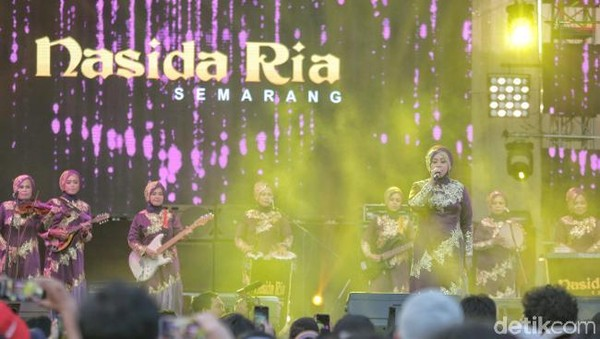 Singgah Sekejap Nasida Ria di Synchronize Fest 2018