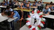 Potret Bocah Palestina yang Tewas Dibunuh Israel Hadir di Ruang Kelas