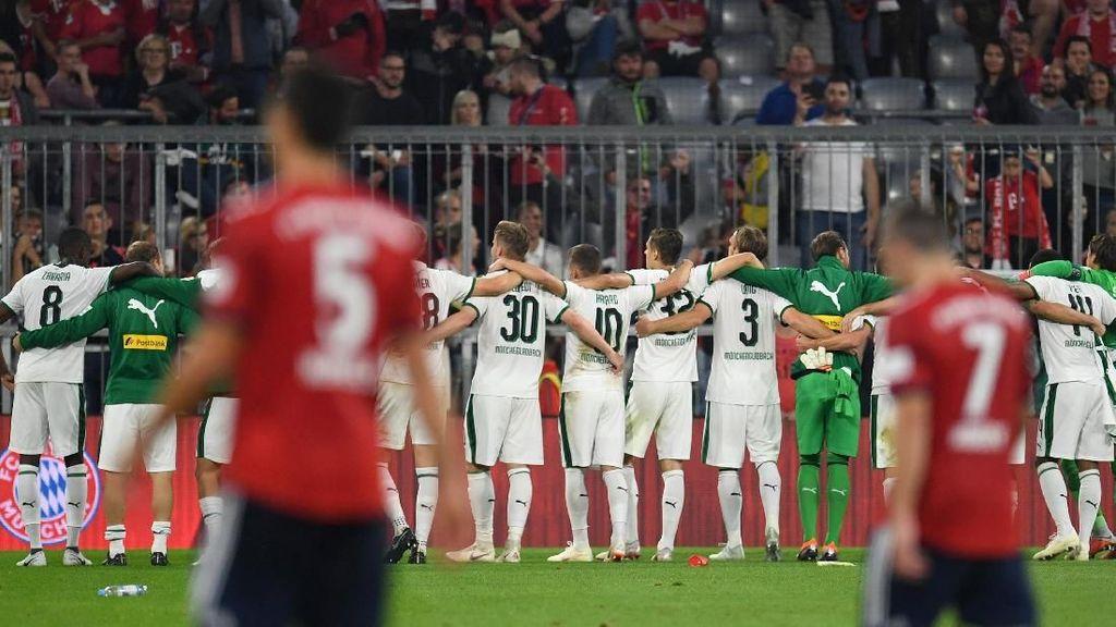 Hasil Liga Jerman: Bayern Dipermalukan Gladbach 0-3