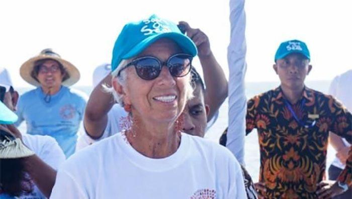 Direktur Pelaksana IMF Christine Lagarde/Foto: Istimewa/Bank Indonesia