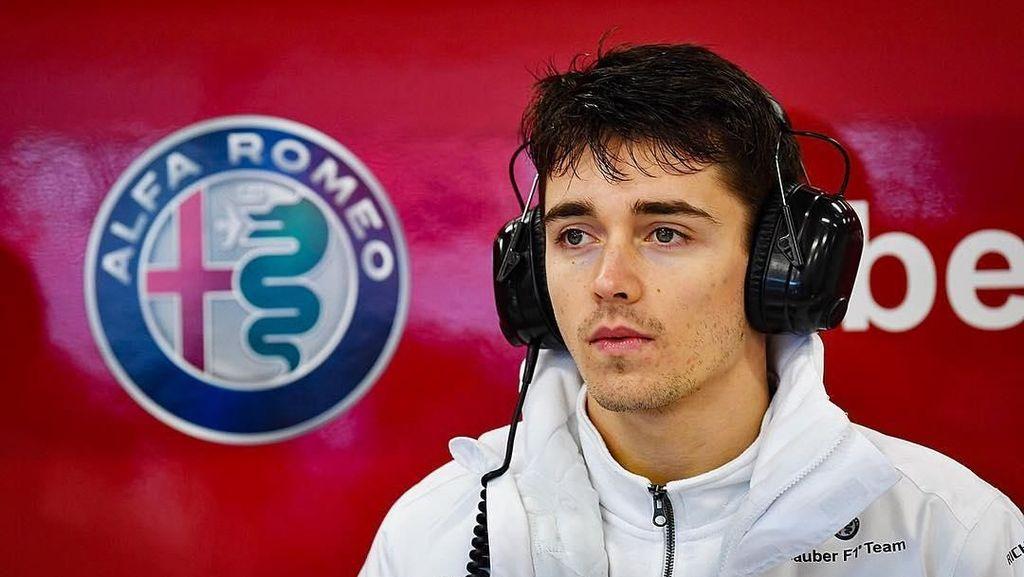 Si Ganteng Charles Leclerc, Pebalap F1 yang Buat Hati Wanita Bergetar