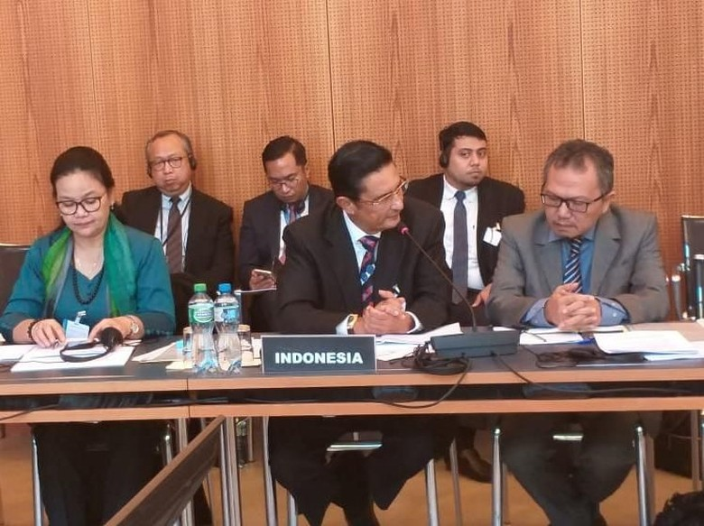 Di Forum Internasional, DPR Bahas Isu Perikanan Hingga UMKM