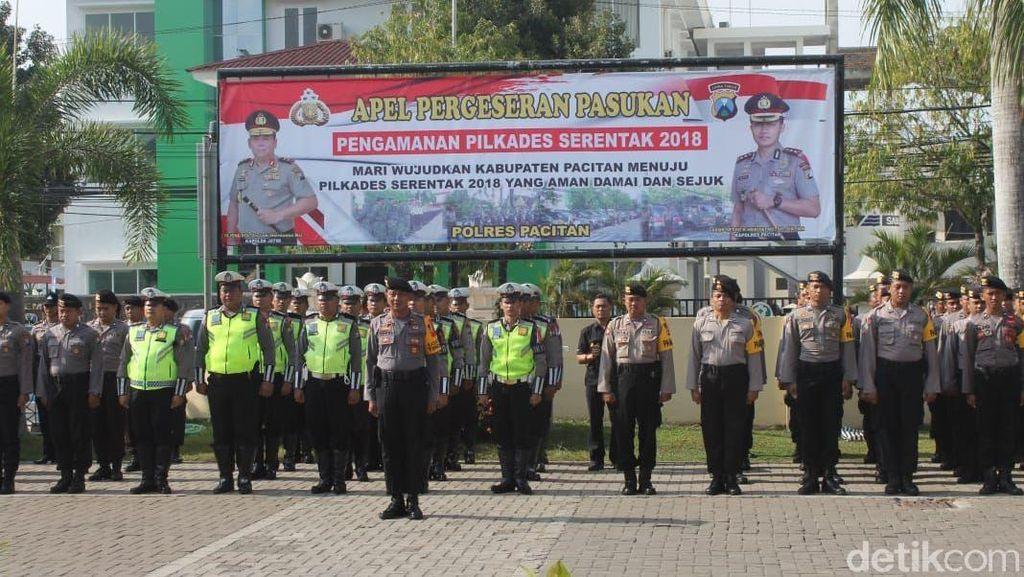 Ini Persiapan Polisi Pilkades Serentak 33 Desa di Pacitan Hari Ini