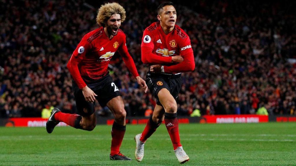 MU Bangkit di Babak Kedua, Ini yang Dikatakan Mourinho Saat Jeda