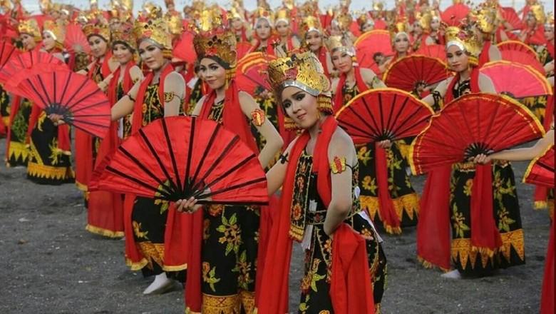 Festival Gandrung Sewu di Banyuwangi (dok Kemenpar)