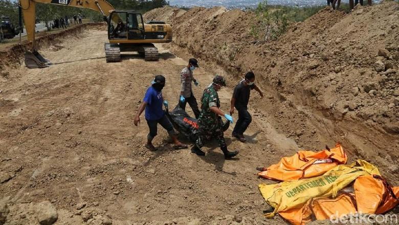 Satgas Gabungan: Korban Gempa-Tsunami Sulteng Capai 2.091 Orang