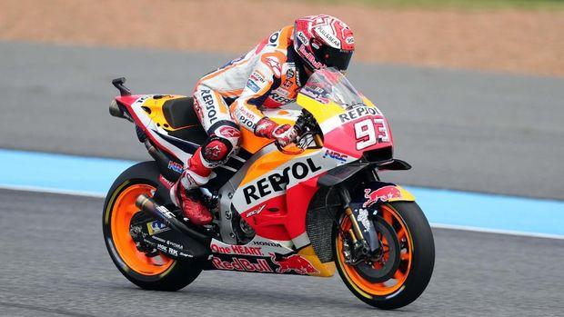Marc Marquez punya peluang besar untuk jadi juara dunia MotoGP 2018.