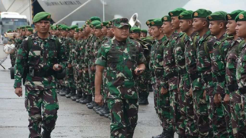 300 Prajurit TNI dari Kaltim Dikirim ke Sulteng Bantu Rehabilitasi