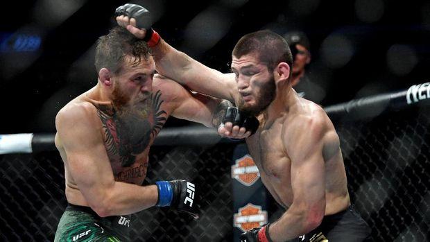 Rematch Khabib Nurmagomedov lawan Conor McGregor jadi salah satu opsi yang mungkin terjadi tahun depan.