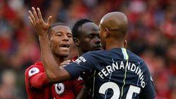 Liverpool vs Man City Tanpa Gol di Babak Pertama