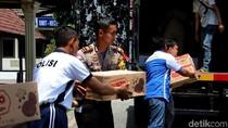 Polres Bojonegoro dan Komunitas Otomotif Ikut Bersimpati Korban Gempa
