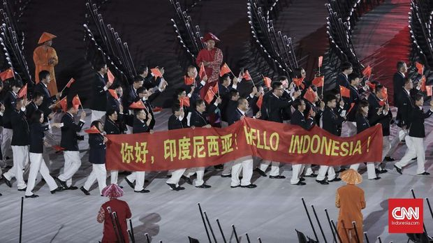 Hampir tiga ribu atlet dari 43 negara tampil di Asian Para Games 2018.