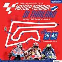 Tonton Live Streaming MotoGP Thailand di Sini!