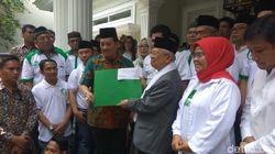 Maruf Amin Lepas Bantuan Relawan untuk Palu, Donggala dan Sigi