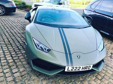 Lamborghini Aventador Roadster McGregor