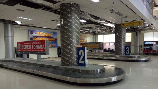 Terminal kedatangan sudah mulai beroperasi