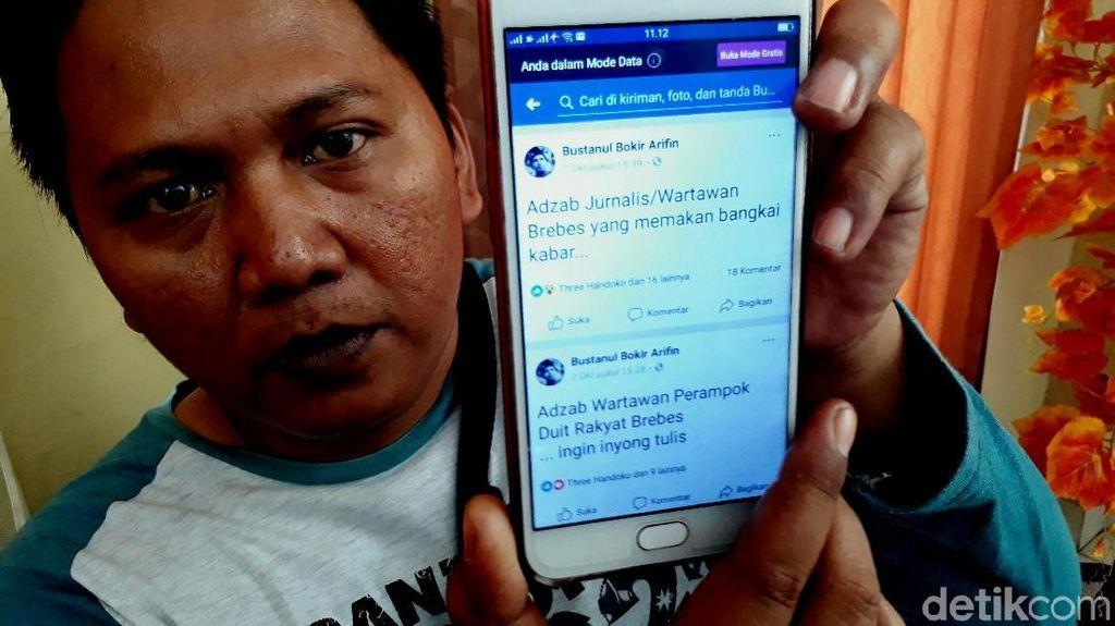 Wartawan Brebes Adukan Akun FB yang Sebarkan Ujaran Kebencian