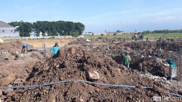Proyek pembangunan Dinas Koperasi dan UMKM jerat wali kota Pasuruan/