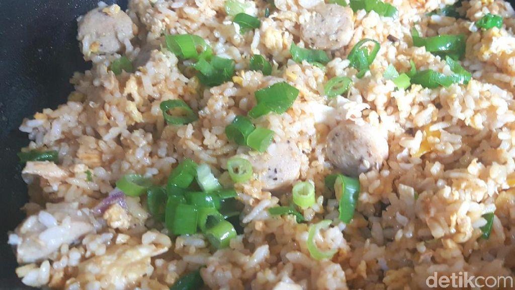 Resep Nasi : Nasi Goreng Kencur Cabe Hijau