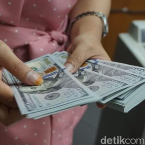 Pagi Ini Dolar AS Kembali Merangkak ke Rp 15.200