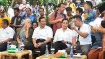 Kunjungi Gempa Lombok, Sri: Orang Tak Boleh Mengaduk-aduk Perasaan