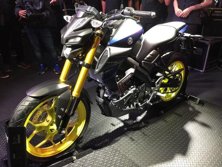 Yamaha MT-15 atau Xabre terbaru meluncur di Thailand. Foto: Dok. Sornuch