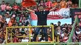 Dukungan The Jak Mania untuk Persija di Patriot Chandrabhaga