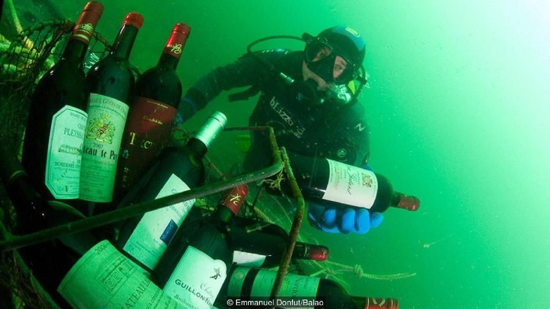 Foto: Wine di dalam laut di Prancis (Emmanuel Donfut/Balao/BBC Travel)