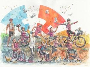 Mengenal Pencipta Ilustrasi Asian Para Games 2018 di Akun Jokowi
