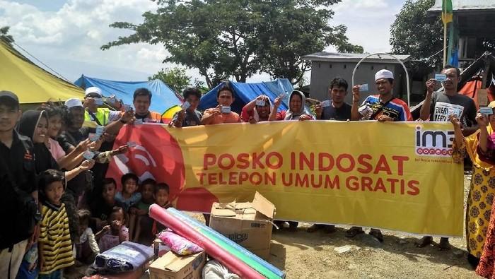 90% BTS Indosat di Palu dan Donggala sudah pulih (Foto: Dok. Indosat Ooredoo)