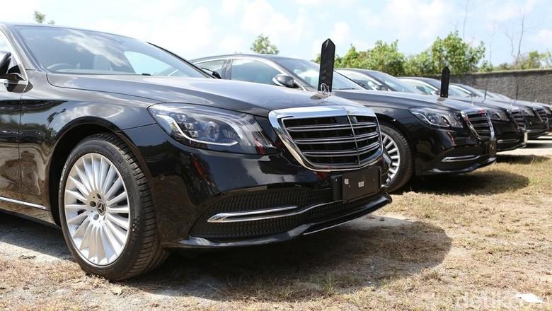 Mobil Mercy yang akan dipakai petinggi negara di pertemuan Bank Dunia-IMF (Foto: Mercedes-Benz)
