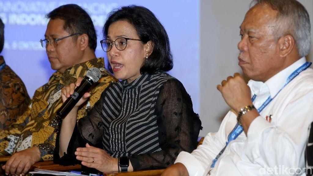 Saat Sri Mulyani Bicara Bangun Infrastruktur Tak Harus Pakai APBN