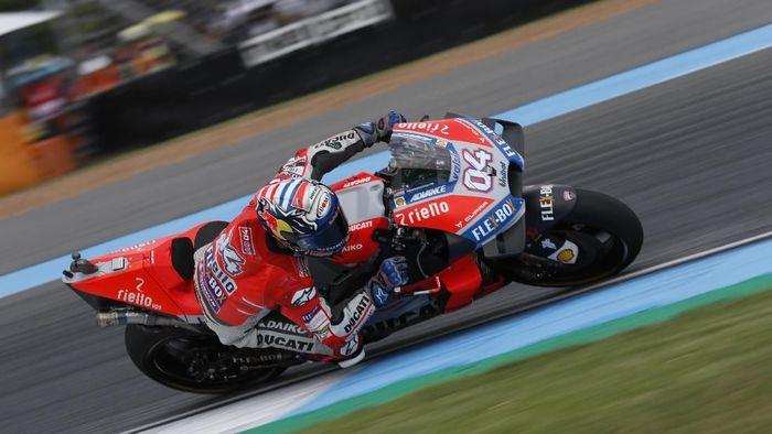 Andrea Dovizioso sudah menyerah kejar gelar juara MotoGP 2018? (Soe Zeya Tun/REUTERS)
