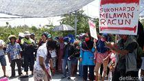 Masih Cium Bau Busuk, Warga Demo Lagi di Depan PT RUM Sukoharjo