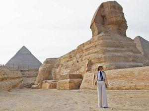 Melania Trump dan Perjalanan Pertamanya ke Afrika