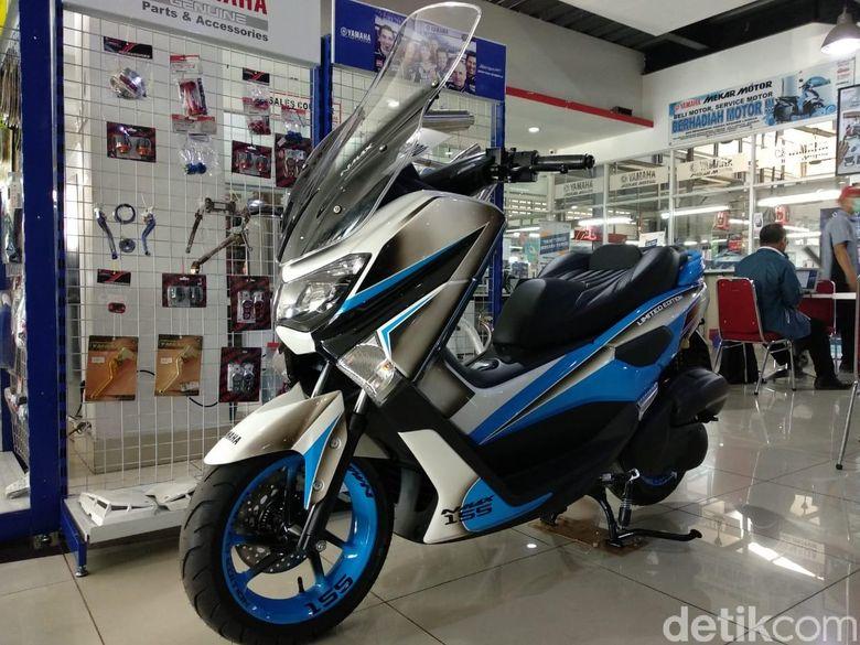 Modifikasi Yamaha Nmax Ala Diler Resmi Tampil Elegan