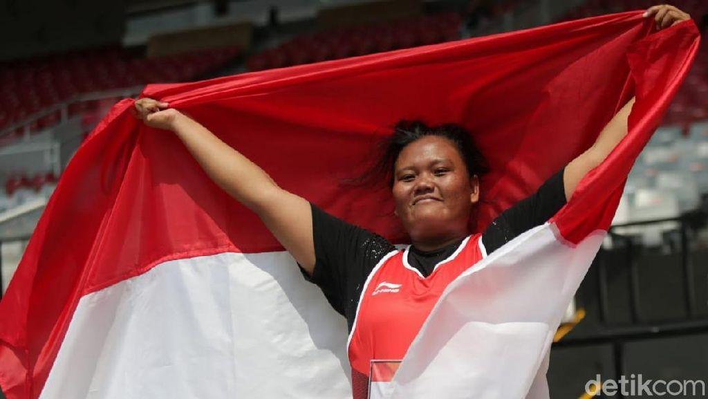 Atlet Tunagrahita Suparniyati Gembira Dapat Emas, tapi...