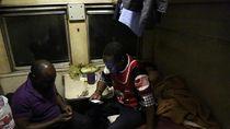 Foto: Suramnya Stasiun Kereta Api di Zimbabwe