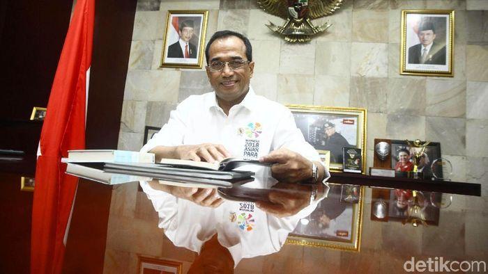 Menteri Perhubungan Budi Karya Sumadi/Foto: Gradyos Zafna