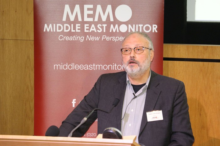 Jamal Khashoggi. Foto: Middle East Monitor/Handout via REUTERS/File Photo